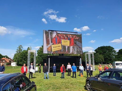 Es kann losgehen beim großen Autokino-Event in Walsrode
